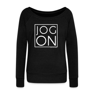 JOG ON - Women's Boat Neck Long Sleeve Top