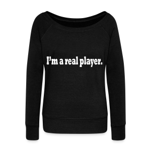 PLAYER - Women's Boat Neck Long Sleeve Top