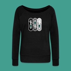 Silverman Sound Studios Logo - Women's Boat Neck Long Sleeve Top