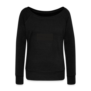 logo_merch - Women's Boat Neck Long Sleeve Top