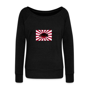 Logo - Women's Boat Neck Long Sleeve Top