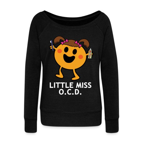 littlemissocdforblack - Women's Boat Neck Long Sleeve Top