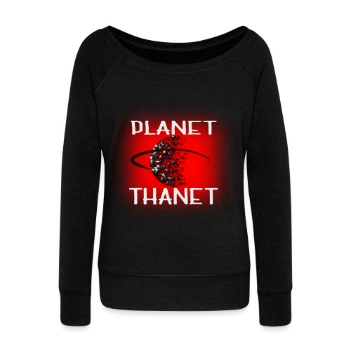 Planet Thanet - Made in Margate - Women's Boat Neck Long Sleeve Top