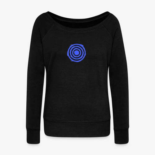 Shooting Target - Women's Boat Neck Long Sleeve Top