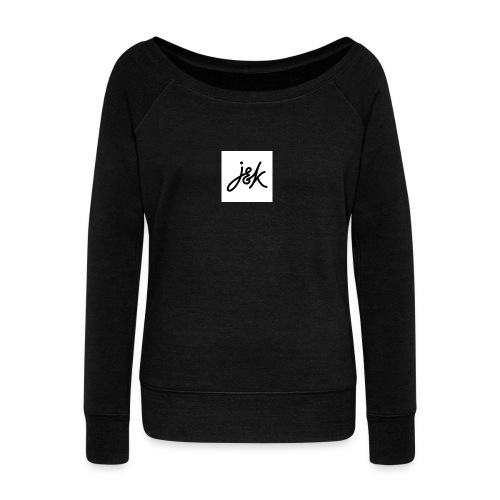 J K - Women's Boat Neck Long Sleeve Top