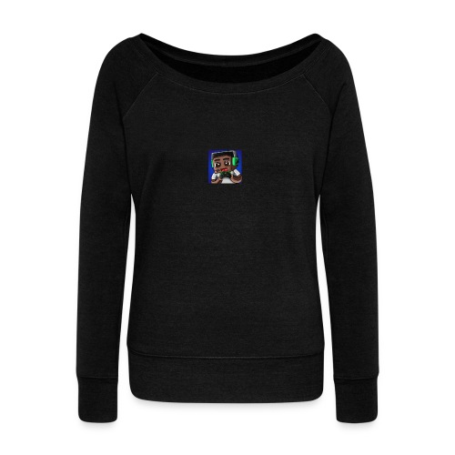 This is the official ItsLarssonOMG merchandise. - Women's Boat Neck Long Sleeve Top