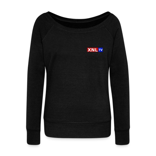 XNL TV Large 3 Color CO png - Women's Boat Neck Long Sleeve Top