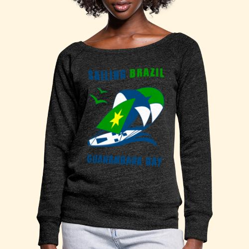 Sailing Brazil - Women's Boat Neck Long Sleeve Top