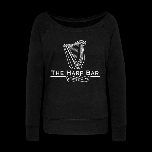 Logo The Harp Bar Paris - Pull Femme col bateau de Bella