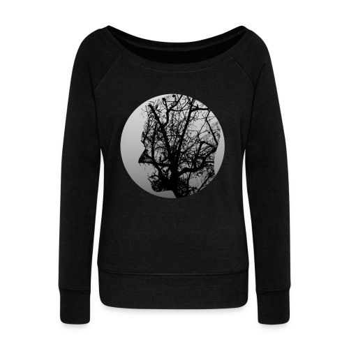 Think of nature - Women's Boat Neck Long Sleeve Top