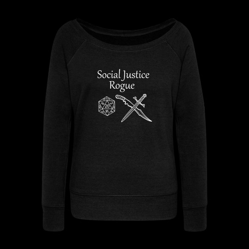 Social Justice Rogue - Women's Boat Neck Long Sleeve Top