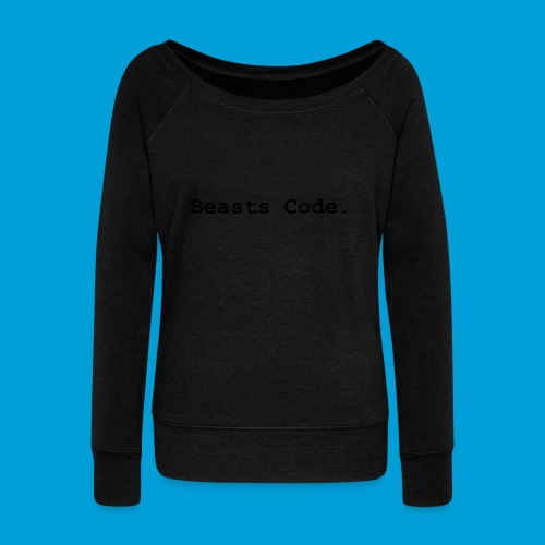Beasts Code. - Women's Boat Neck Long Sleeve Top