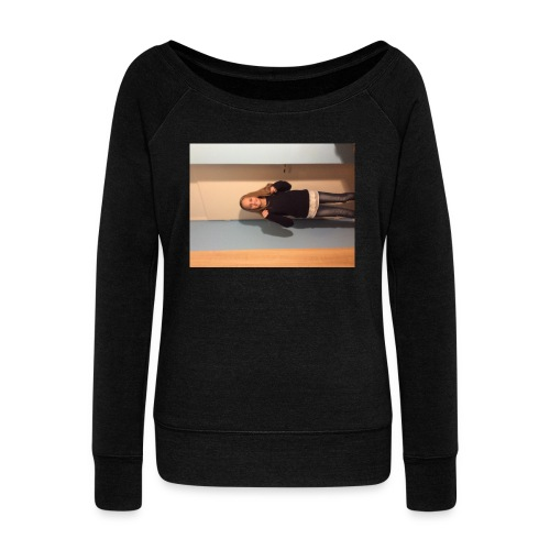 IMG_1686 - Women's Boat Neck Long Sleeve Top