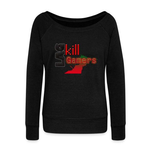 LAG Kills - Women's Boat Neck Long Sleeve Top
