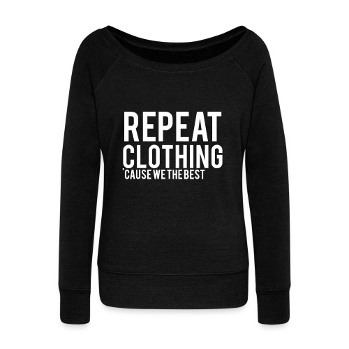 Repeat Clothing - Women's Boat Neck Long Sleeve Top