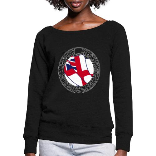 Hands to Harbour Stations (DC) - Women's Boat Neck Long Sleeve Top