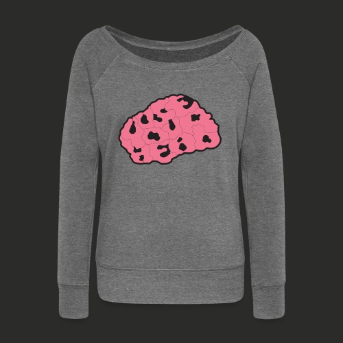 Use Your Head (Colour) Mens T-shirt - Women's Boat Neck Long Sleeve Top