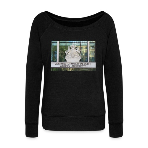Court of Contempt - Women's Boat Neck Long Sleeve Top