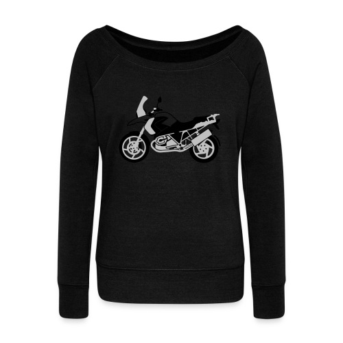 R1200GS 08-on - Women's Boat Neck Long Sleeve Top