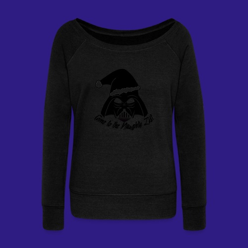 Vader's List - Women's Boat Neck Long Sleeve Top