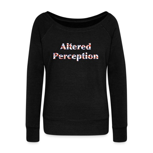 Altered Perception - Women's Boat Neck Long Sleeve Top