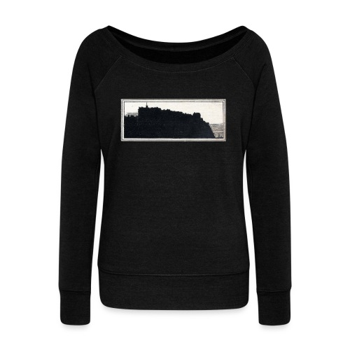 back page image - Women's Boat Neck Long Sleeve Top