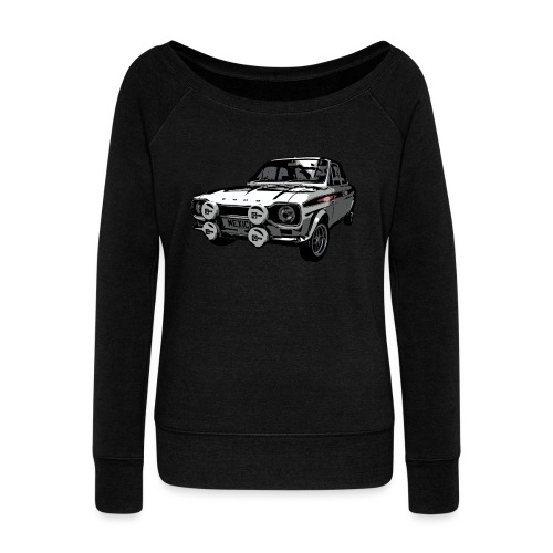 Mk1 Escort - Women's Boat Neck Long Sleeve Top