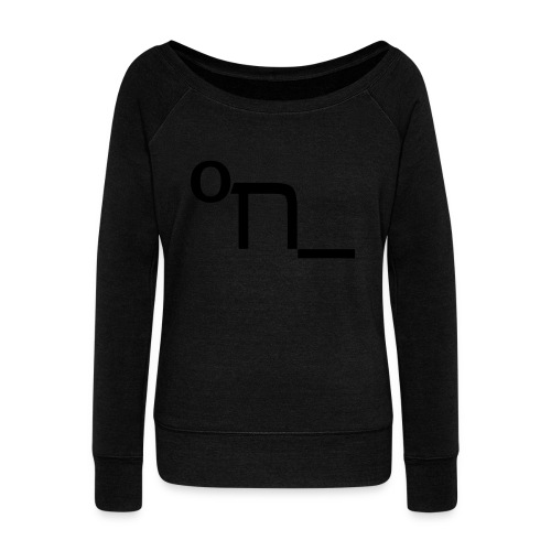 DRUNK - Women's Boat Neck Long Sleeve Top