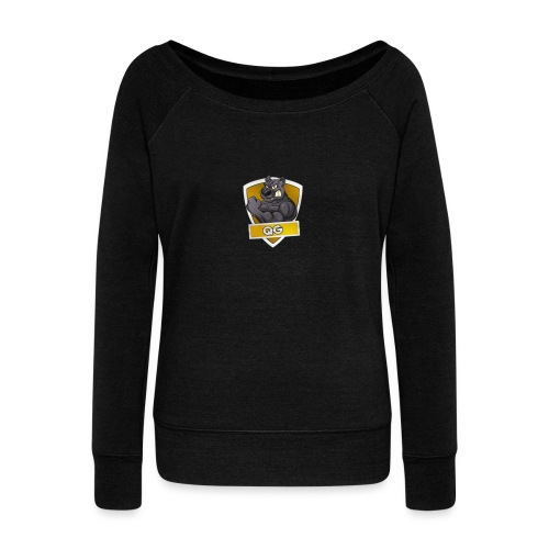QUICK GAMING - Women's Boat Neck Long Sleeve Top