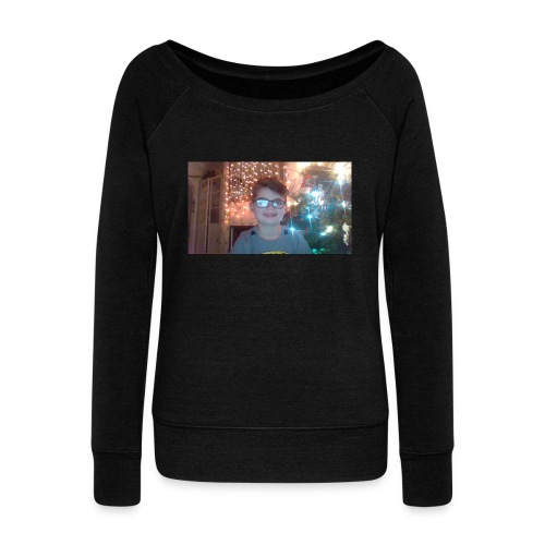 limited adition - Women's Boat Neck Long Sleeve Top