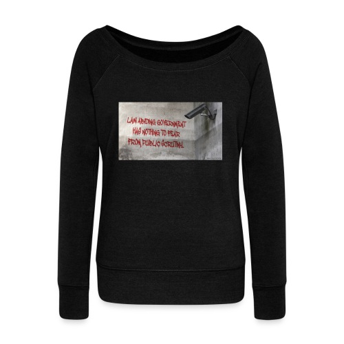 Nothing to Fear - Women's Boat Neck Long Sleeve Top