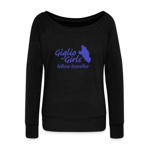 GIGLIOGIRLS_FT - Women's Boat Neck Long Sleeve Top