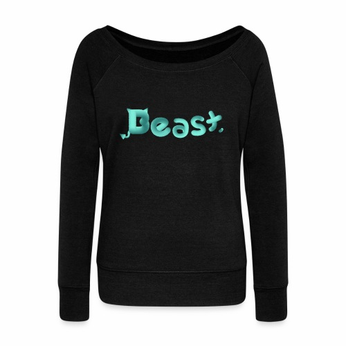 Beast - Women's Boat Neck Long Sleeve Top
