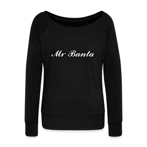 italic banta - Women's Boat Neck Long Sleeve Top
