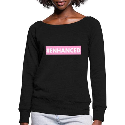 ENHANCED BOX - Women's Boat Neck Long Sleeve Top