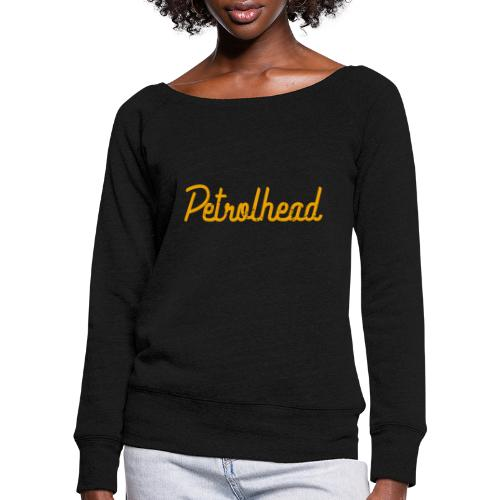 Petrolhead is the new color - Felpa con scollo a barca da donna, marca Bella