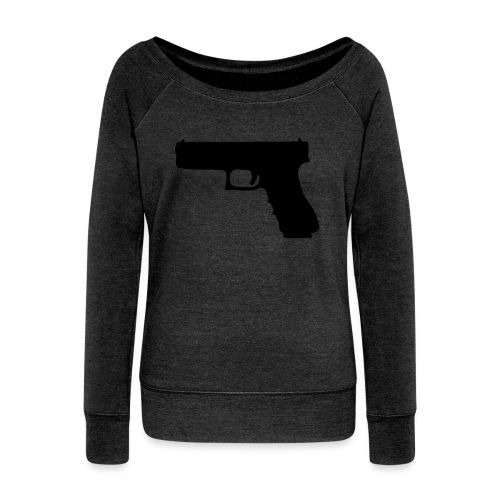 The Glock 2.0 - Women's Boat Neck Long Sleeve Top