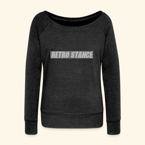 Retro Stance - Women's Boat Neck Long Sleeve Top