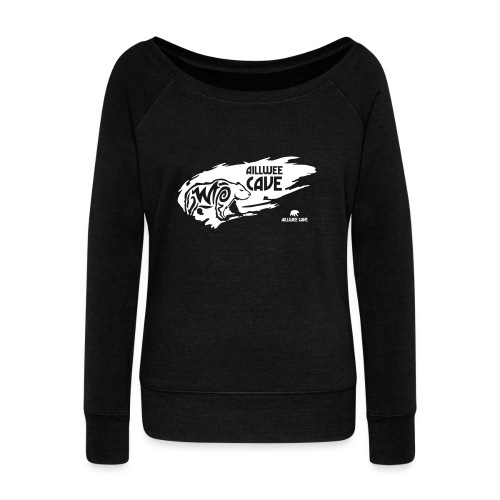 Legend_-_Aillwee_Cave1 - Women's Boat Neck Long Sleeve Top