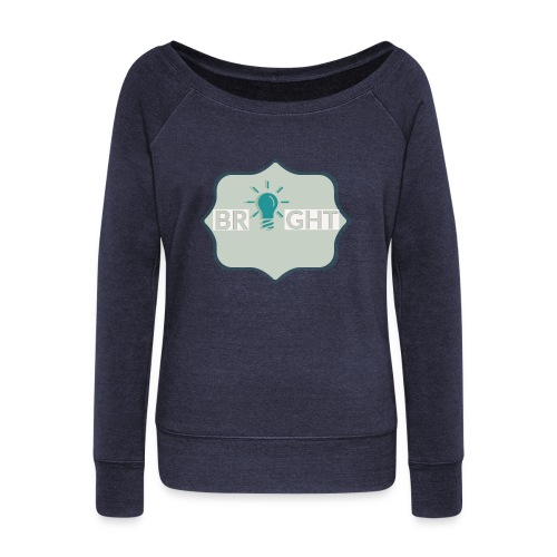 bright - Women's Boat Neck Long Sleeve Top