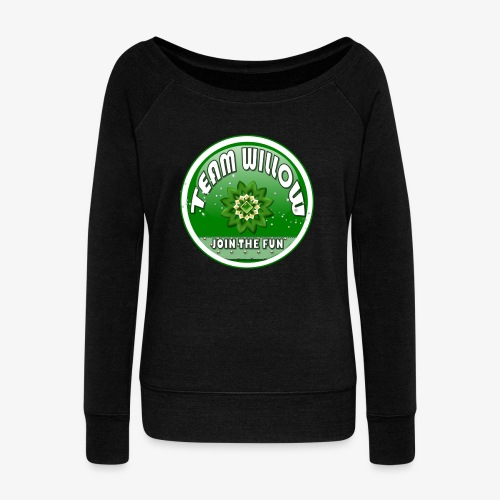 TEAM WILLOW - Women's Boat Neck Long Sleeve Top