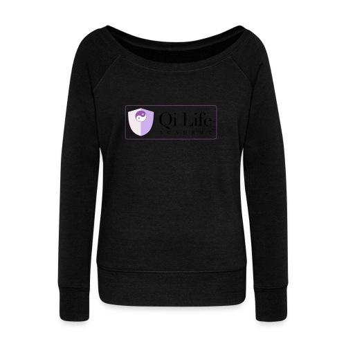 Qi Life Academy Promo Gear - Women's Boat Neck Long Sleeve Top