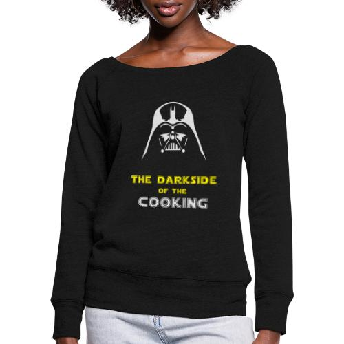 The darkside of the cooking - Pull Femme col bateau de Bella