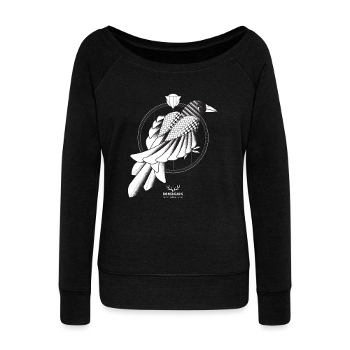 The Crow - Women's Boat Neck Long Sleeve Top
