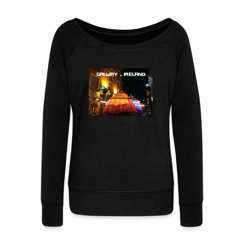 GALWAY IRELAND MACNAS - Women's Boat Neck Long Sleeve Top