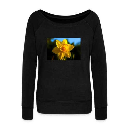 daffodil - Women's Boat Neck Long Sleeve Top