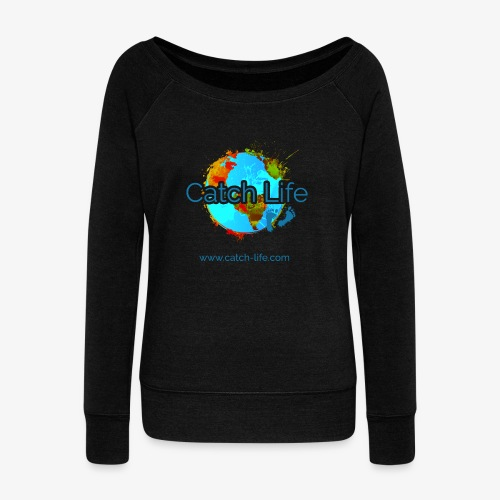 Catch Life Color - Women's Boat Neck Long Sleeve Top
