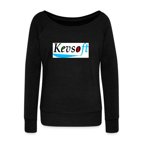 Kevsoft - Women's Boat Neck Long Sleeve Top