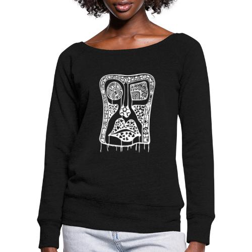 The Be Liever - Women's Boat Neck Long Sleeve Top