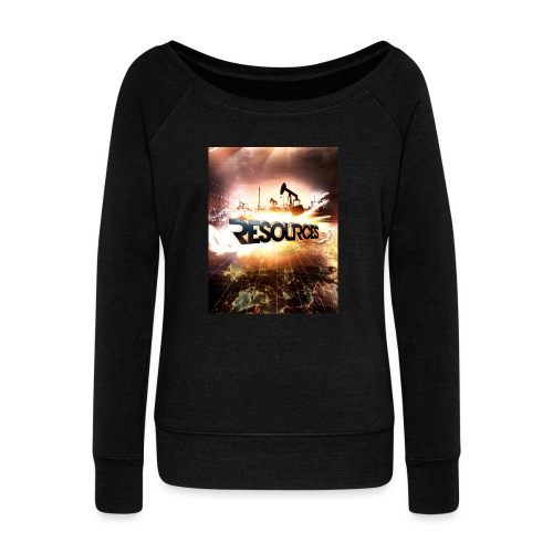 RESOURCES Splash Screen - Frauen Pullover mit U-Boot-Ausschnitt von Bella